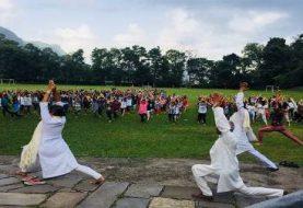 चौथो अन्तर्राष्ट्रिय योग दिवस देशैभर मनाइदै