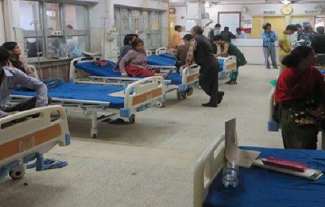 आर्थिक सर्वेक्षणः ८ महिनामा ४ लाख ८३ हजार बिरामी अस्पताल भर्ना