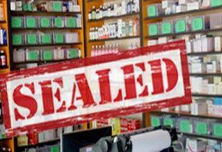 मापदण्डविपरीत सञ्चालित ४ औषधि पसलमा शिलबन्दी
