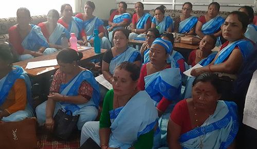 लामखुट्टेको लार्भा नष्ट गर्ने अभियान सुरु, ३३ जना महिला स्वास्थ्य स्वयंसेविका परिचालन