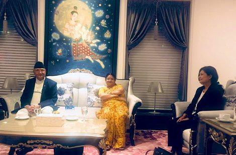 प्रधानमन्त्री ओली सिंगापुरमा, आजैदेखि स्वास्थ्य परीक्षण गरिँदै