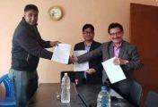 ॐ चावहिल डेन्टल हस्पिटल र जर्मन नेपाल सहयोग संघबिच सम्झौता
