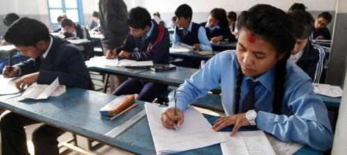 कक्षा १२ को परीक्षा केन्द्रमा हेल्थ डेस्क अनिवार्य