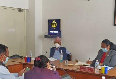 कक्षा १२ को परीक्षा केन्द्रमा स्वास्थ्यकर्मी राख्न सरकारलाई निर्देशन