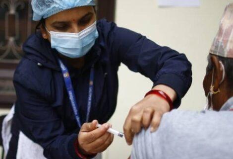 हालसम्म ७३ लाख ८२ हजार ८५० डोज कोरोना  खोप नेपाल  भित्रियो