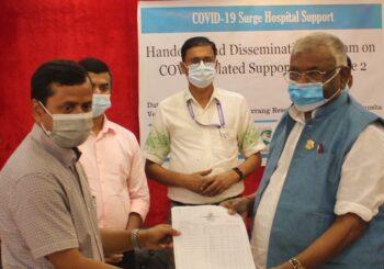 प्रदेश नम्बर–२ का स्वास्थ्य संस्थाहरुलाई वागमती सेवा समाज र आड्रा नेपालको सहयोग